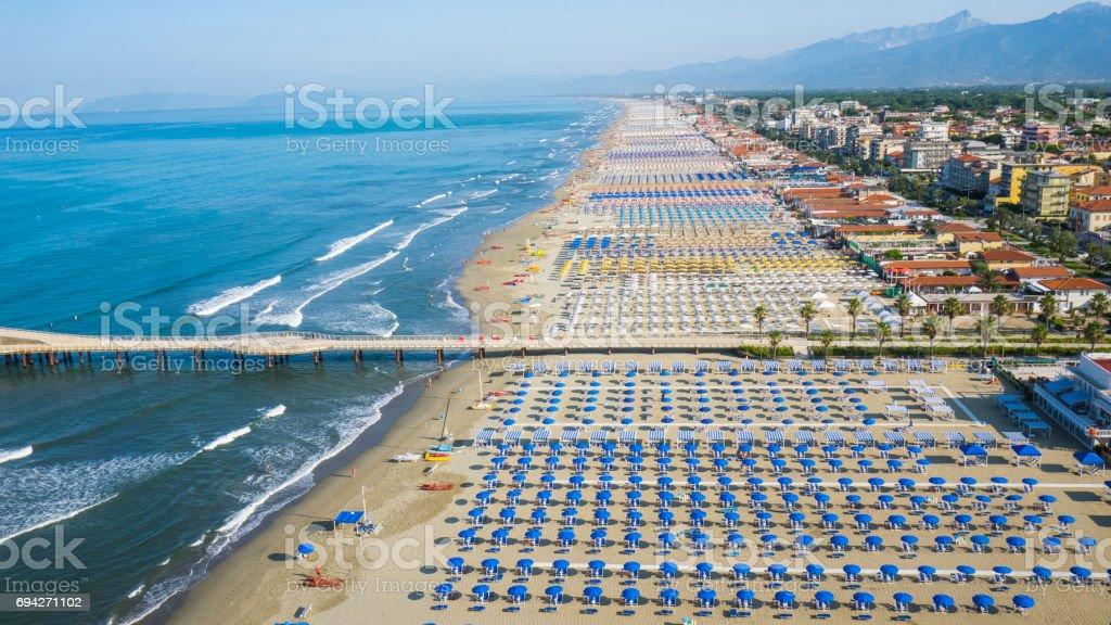 Versilia, Italy stock photo