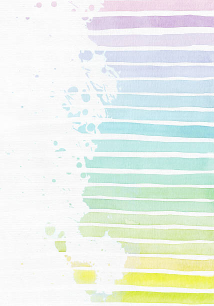 Vertical background with hand drawn stripe gradient texture ストックフォト