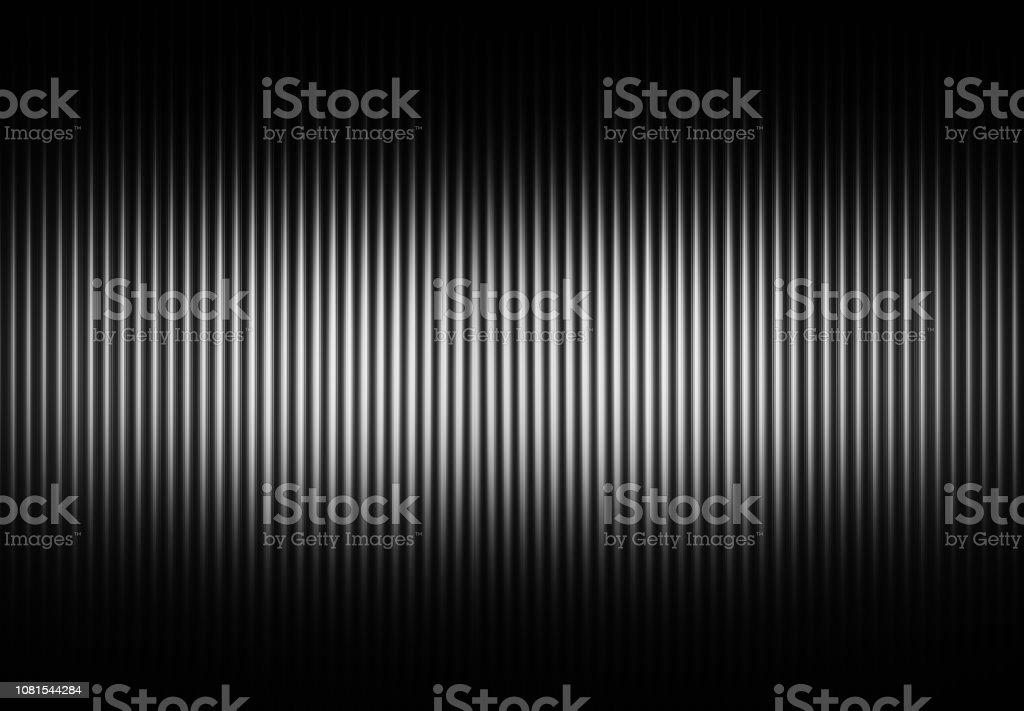 Fundo de cortinas verticais de preto e branco - foto de acervo