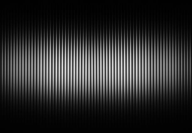 Vertical black and white curtains background stock photo