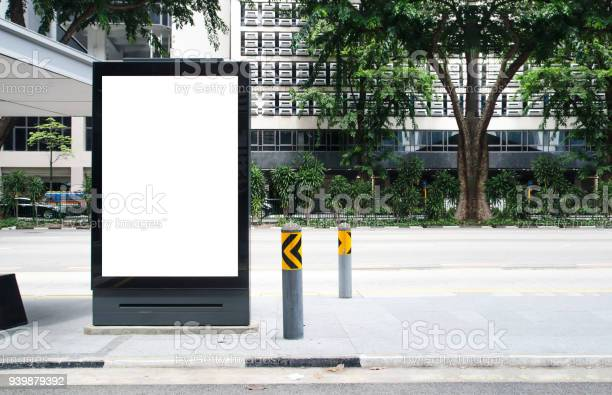 Vertical blank billboard at bus stop outdoor advertise on street mock picture id939879392?b=1&k=6&m=939879392&s=612x612&h=ltwnkxr3csg1hv0nz5a1pijj5ekco7b1xnzmajs98 8=