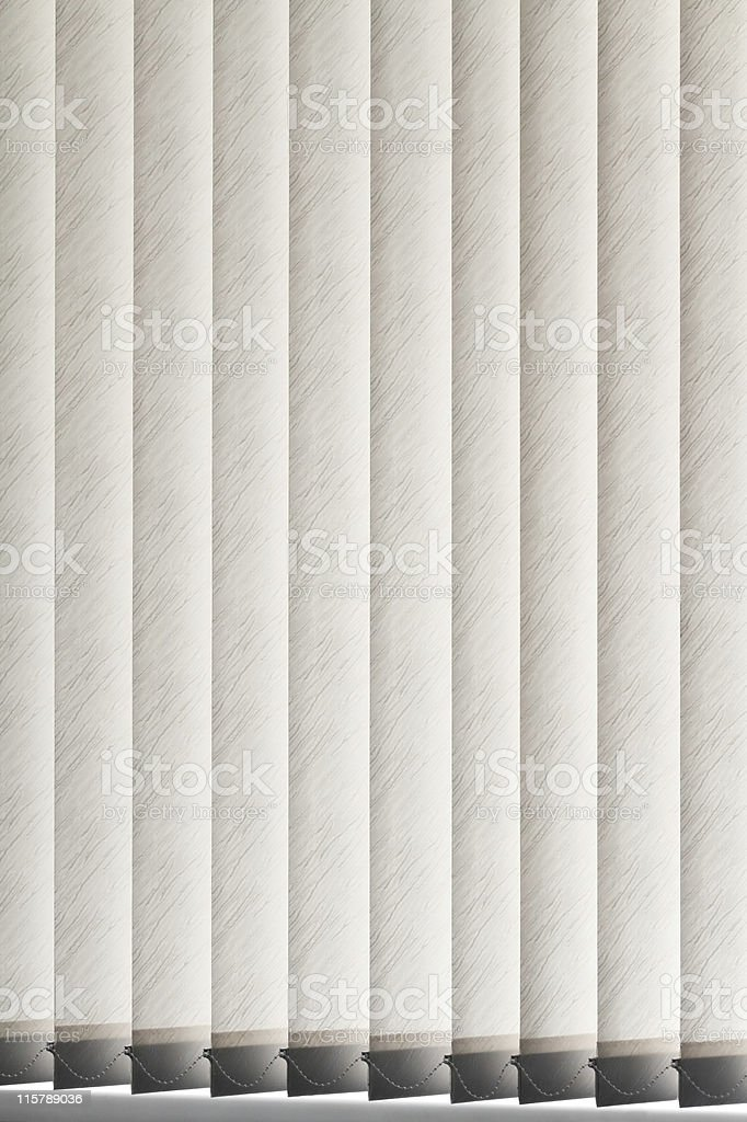 Vertical blinds background stock photo