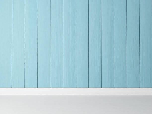 vertikale blau holz wand-hintergrund - kinderzimmer wand stock-fotos und bilder