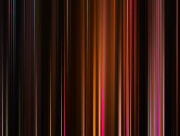 Vertical brown and orange blur lines background hd stock photo