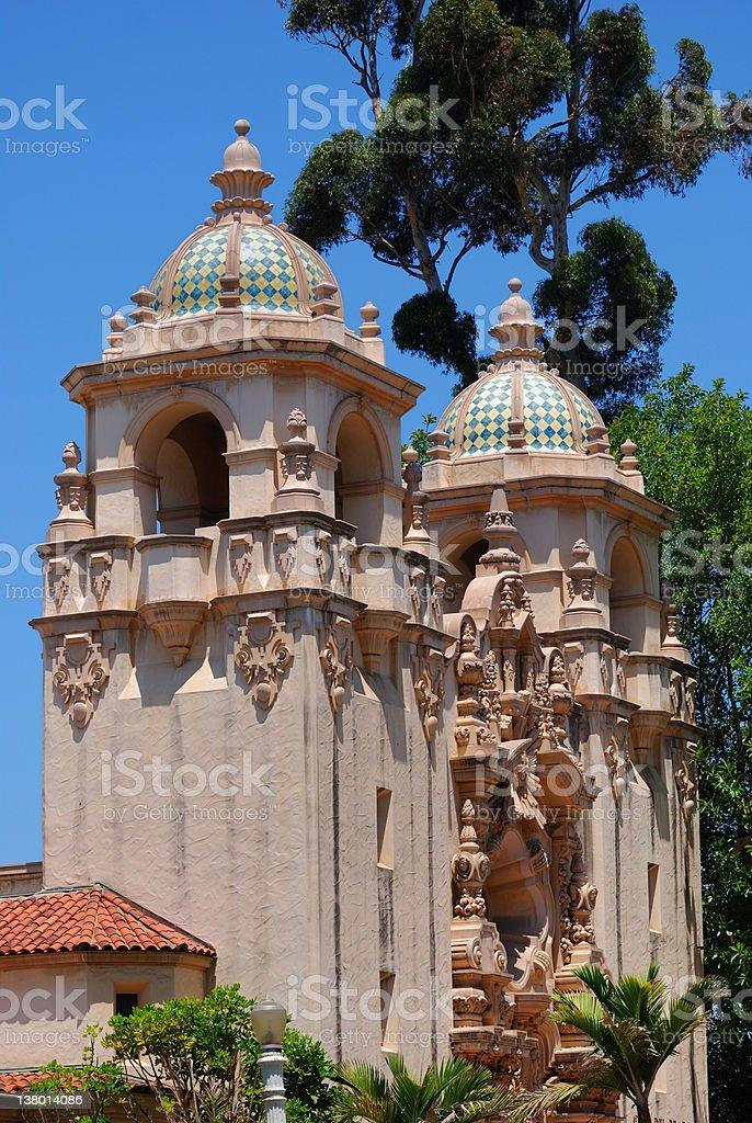 Vertical Casa Del Prado royalty-free stock photo
