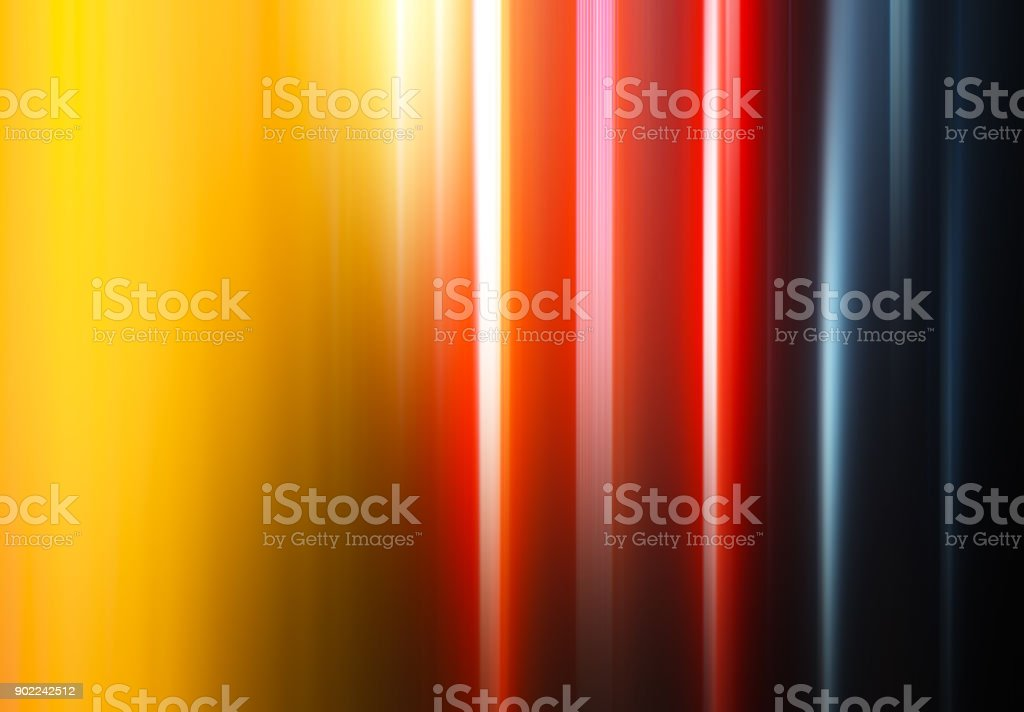 Vertical colorful curtains bokeh background stock photo