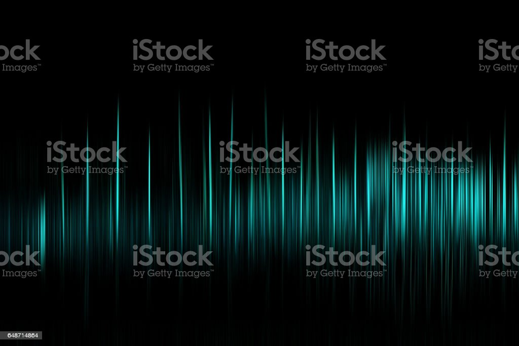 Vertical cyan motion blur osc background - foto stock