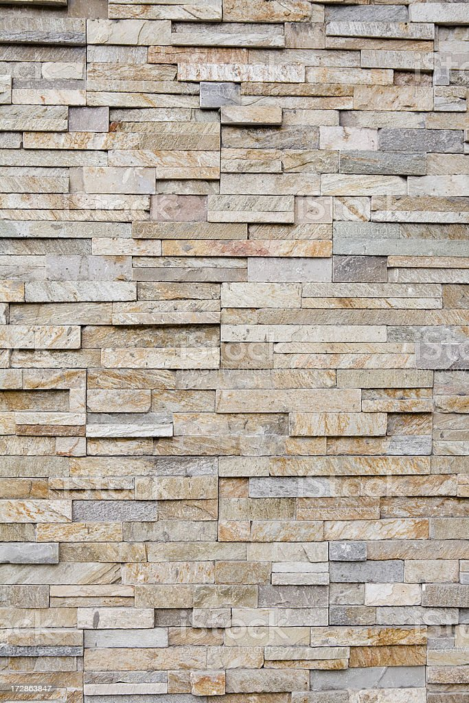 Vertical flat stacked stone royalty-free stock photo