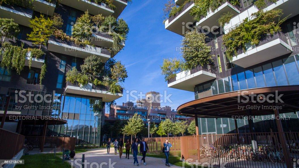 Vertikale Wald, Mailand, Porta Nuova Wolkenkratzer Residenzen, Italien – Foto