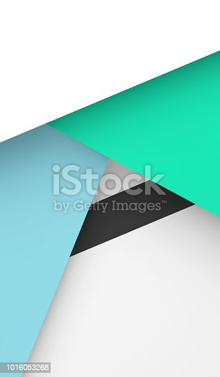 1126531335 istock photo Vertical geometric pattern. 3d render 1016053268
