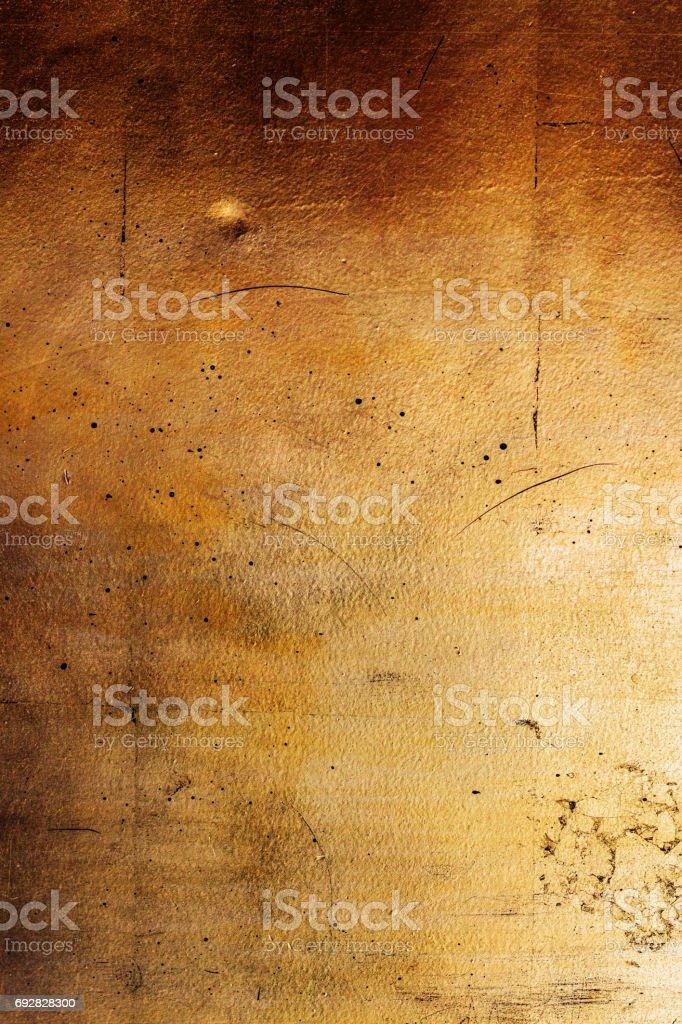 senkrechte goldene Wand, Textur des schwarzen Goldes – Foto