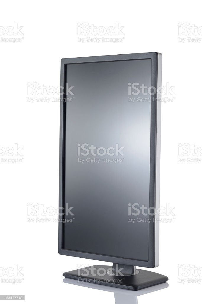 Vertical Hd Monitor stock photo