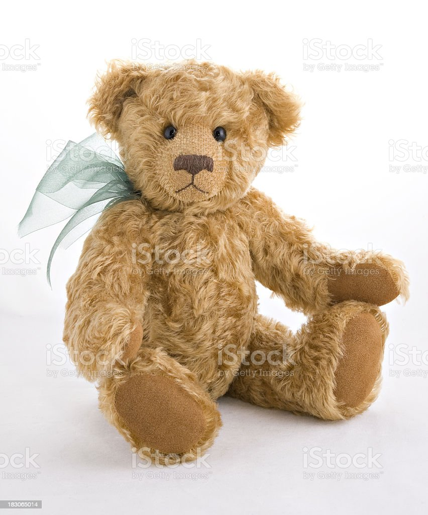 Vertical Image of Teddy Bear royalty-free stock photo