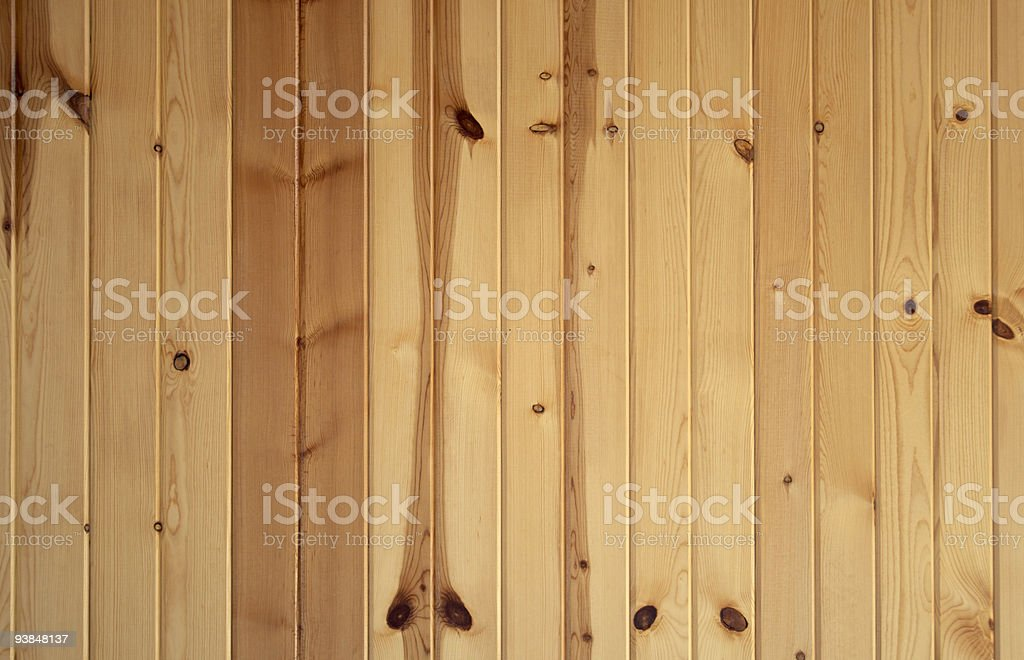 Vertical Knotty Pine Boards royalty-free stock photo