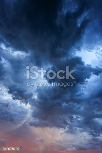 516351793 istock photo Vertical Majestic Storm Clouds 942678120