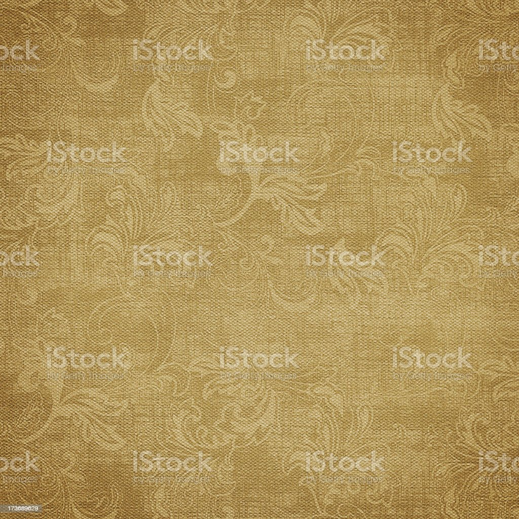Vertical photo of an antique wallpaper XXXL in sepia royalty-free stock photo