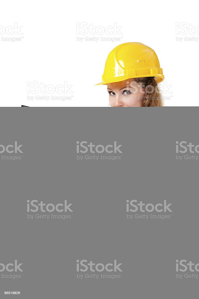 Vertical plumb on black stock photo