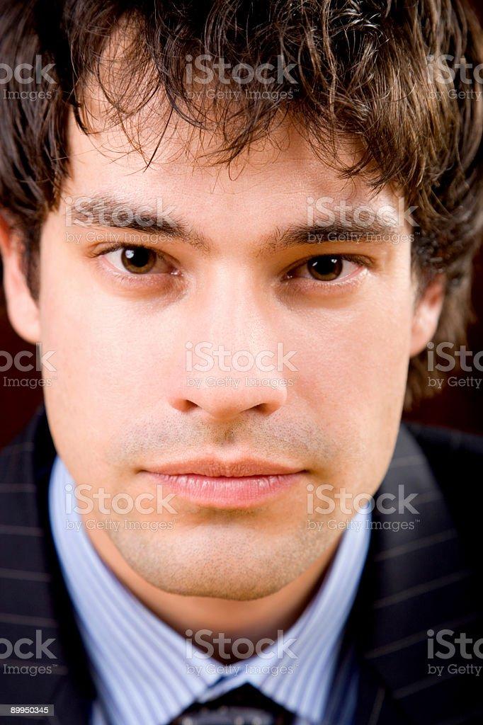 Vertical Portrait / Business Man stock photo