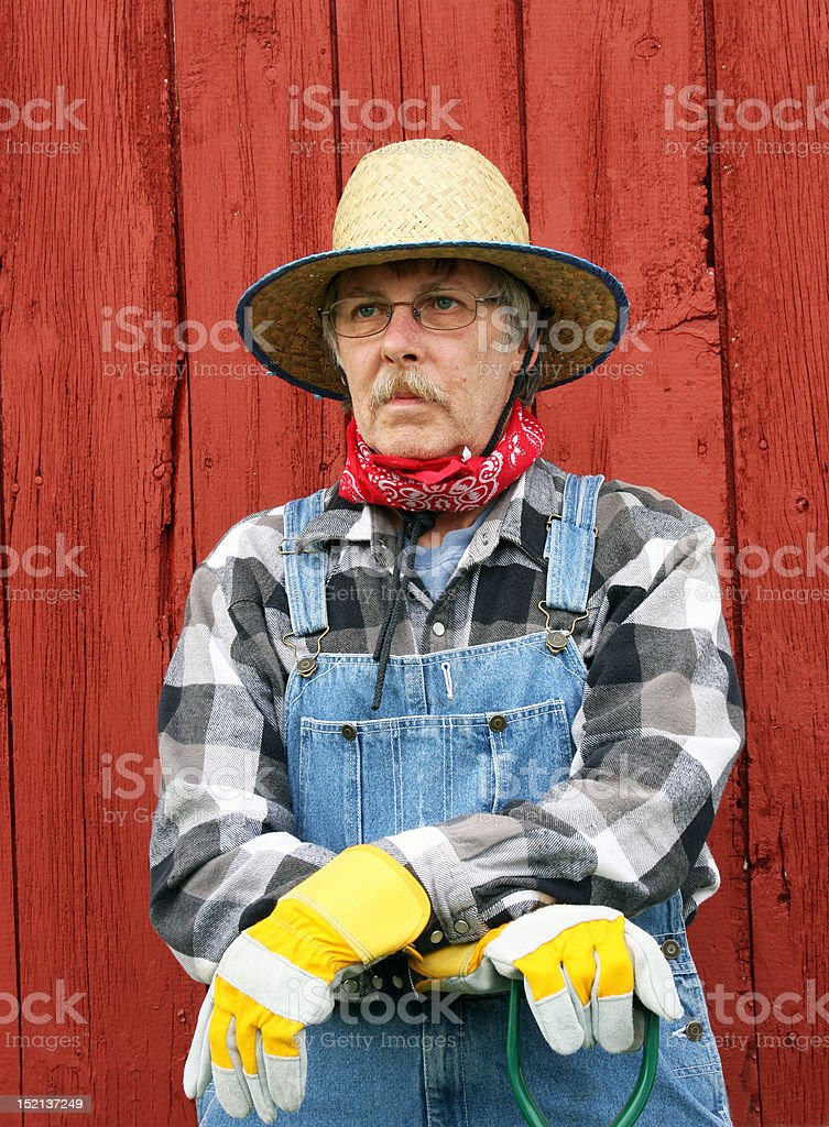 d9134bf7b0074 Vertical Portrait Of Farm Hand Stock Photo - Download Image Now - iStock