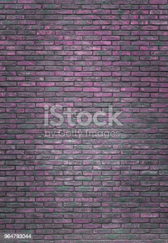 Vertical Purple Brick Wall Background Wallpaper Purple Bricks Pattern Texture Stock Photo & More Pictures of Architecture