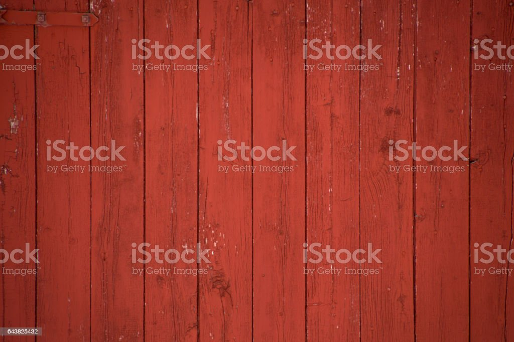 Vertical red barn boards and planks background stock photo