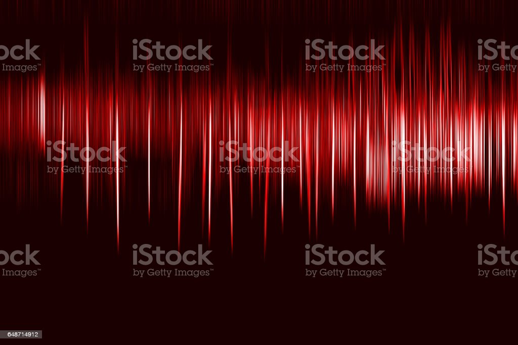 Vertical red motion blur osc background - foto stock