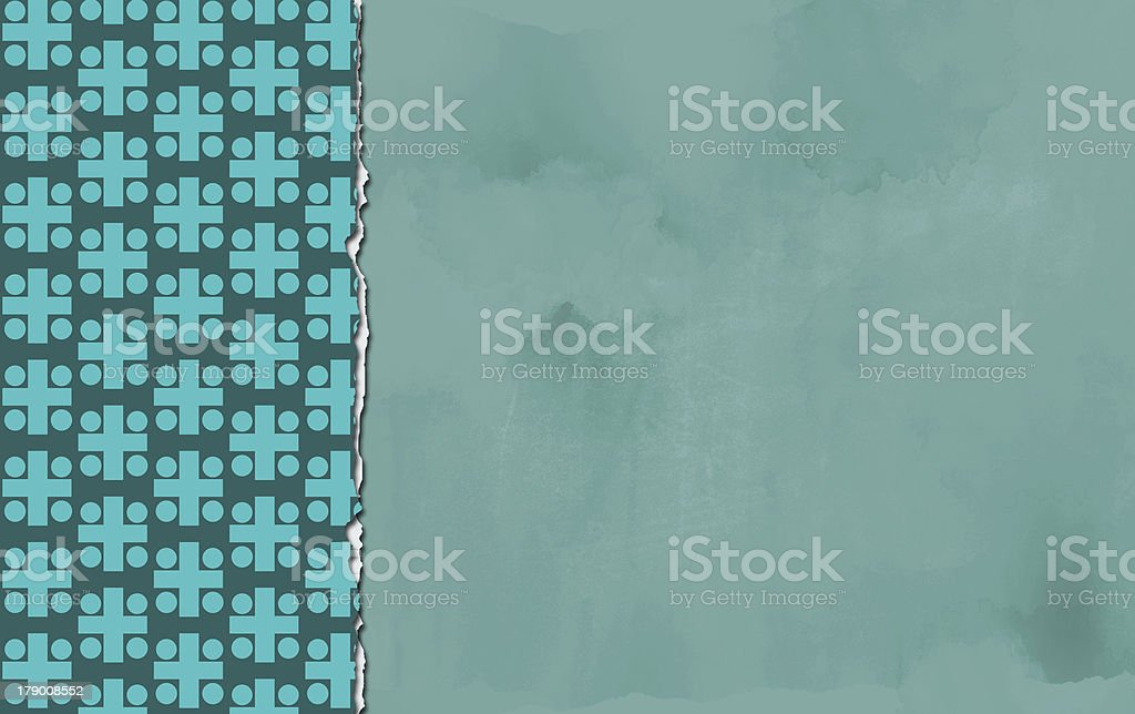 Vertical  ripped paper royalty-free stock photo