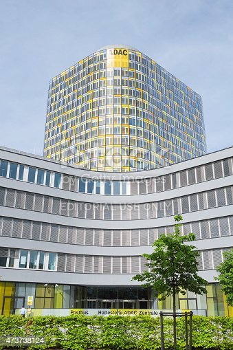istock Vertical shot of ADAC emergency rescue association headquarters 473738124