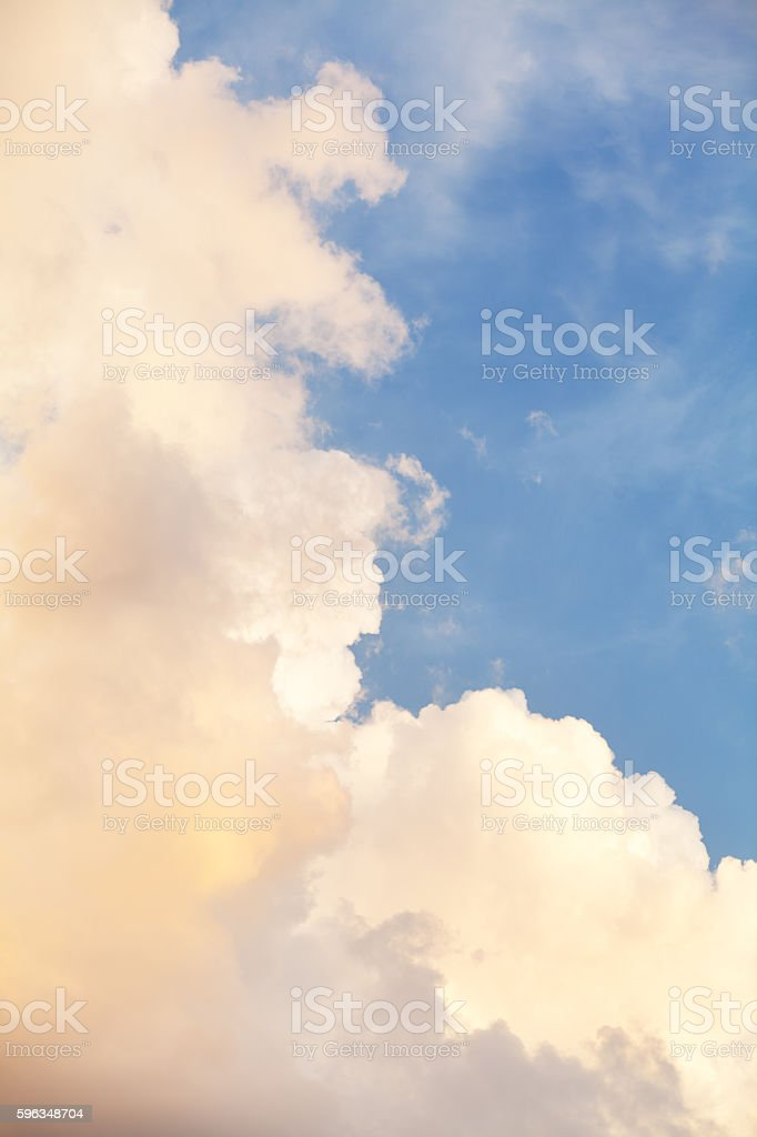 Vertical sky shot royalty-free stock photo