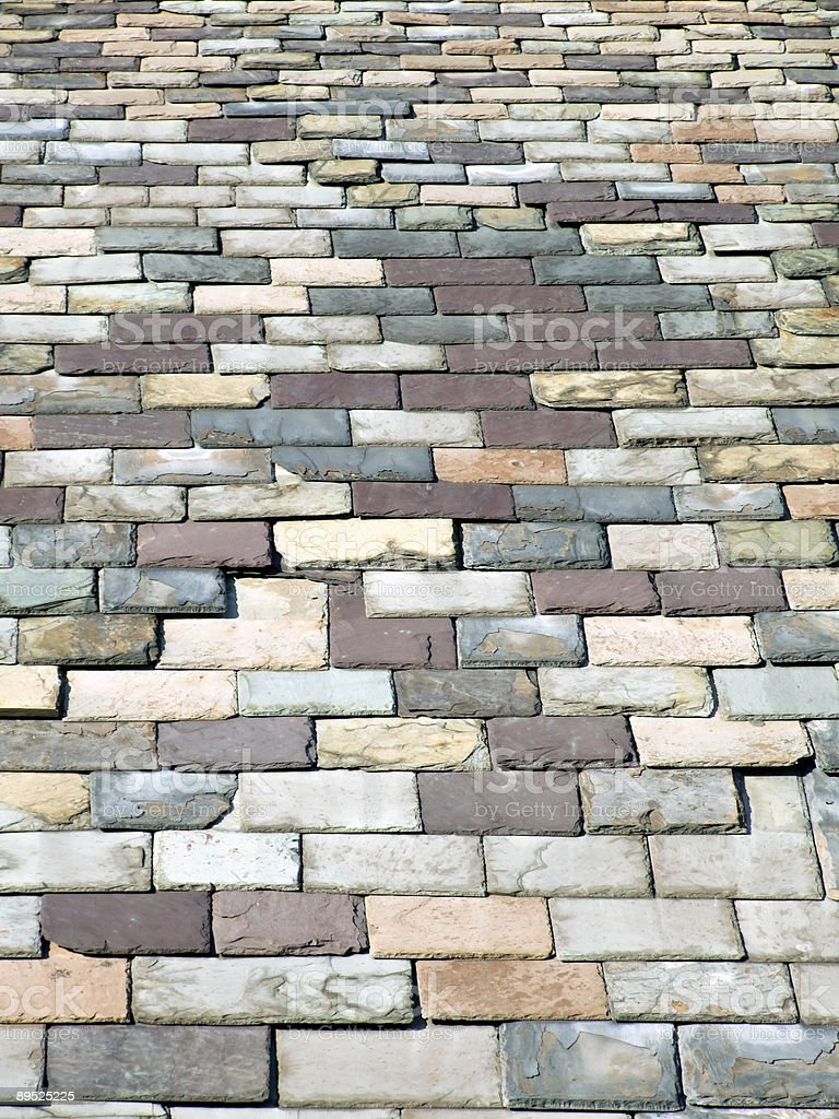 Vertical Slates Background royalty-free stock photo