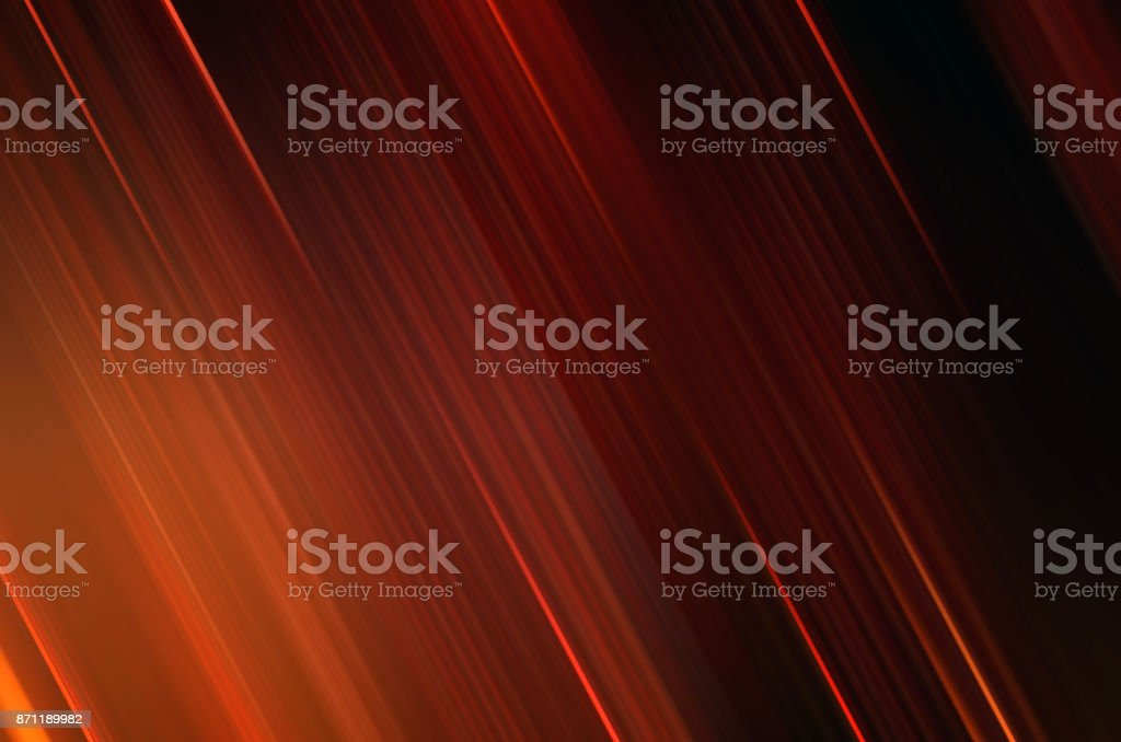 Vertical speed motion background in red, yellow, orange color for event, transportation, celebration background stock photo