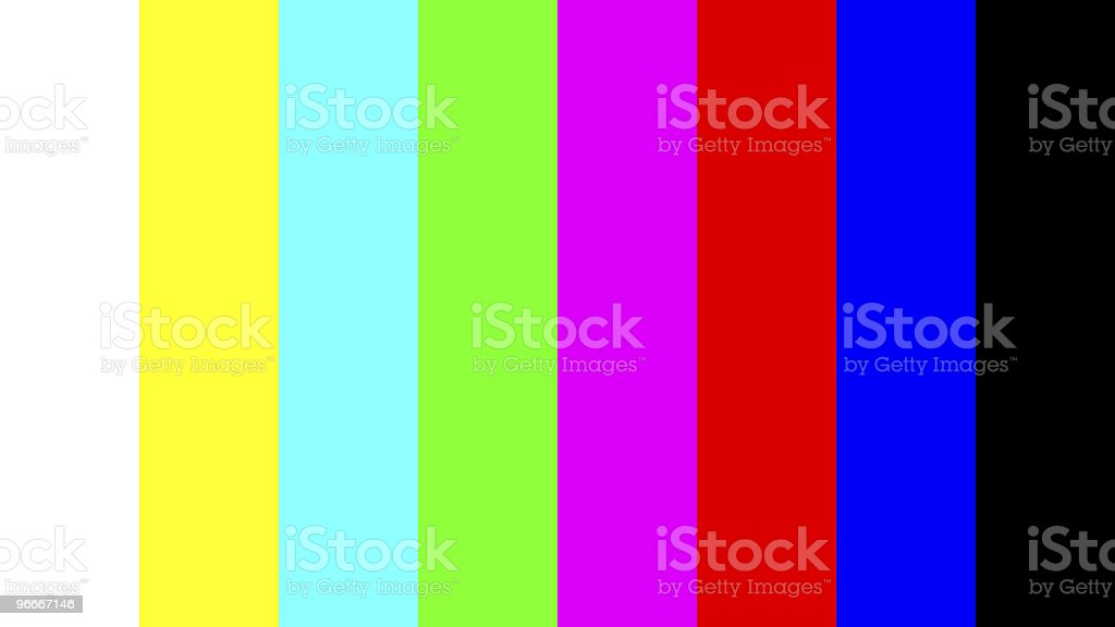 Vertical stripes in various colors stock photo