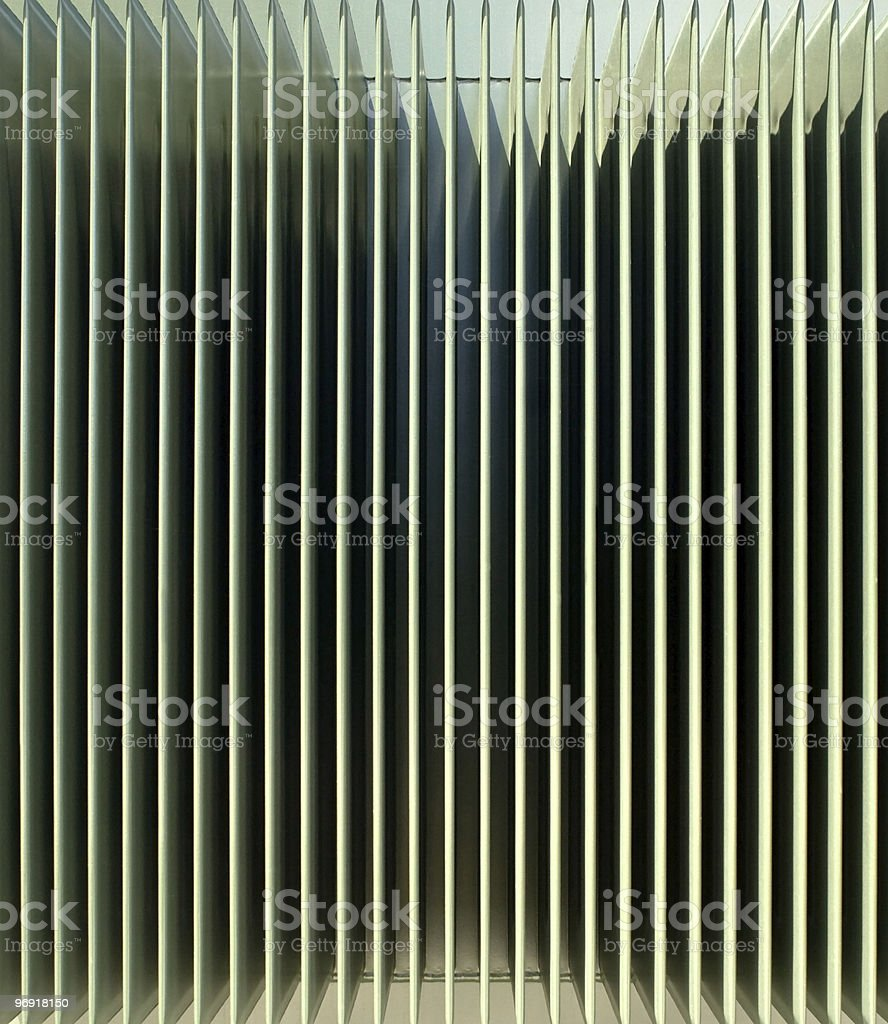 Vertical Vent Background royalty-free stock photo