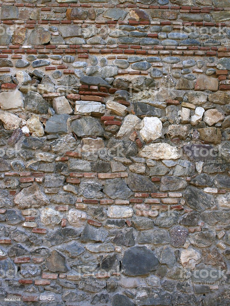 Vertical wall texture Nobody royalty-free stock photo