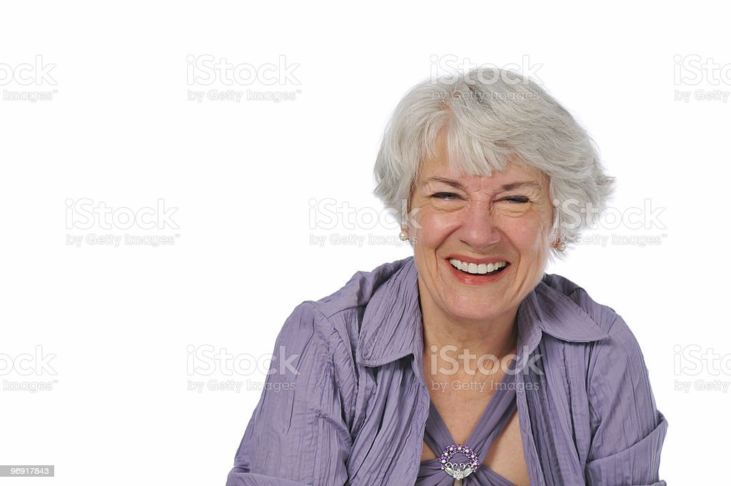 Very attractive Senior lady royalty-free stock photo