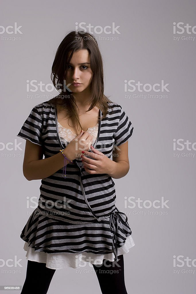 Very Attractive woman posing royalty-free stock photo