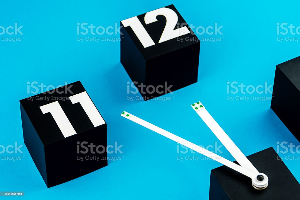 very close to the deadline stock photo