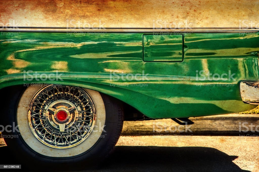 Very Cool Wagon (Canvas) stock photo