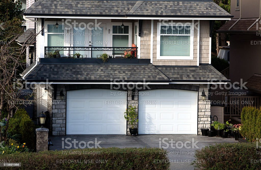 Very Cute And Petite Home stock photo