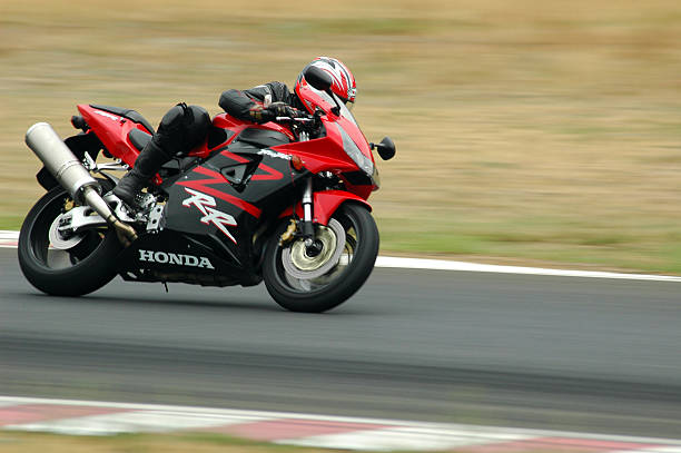 very fast bike - motorbike racing stock photos and pictures