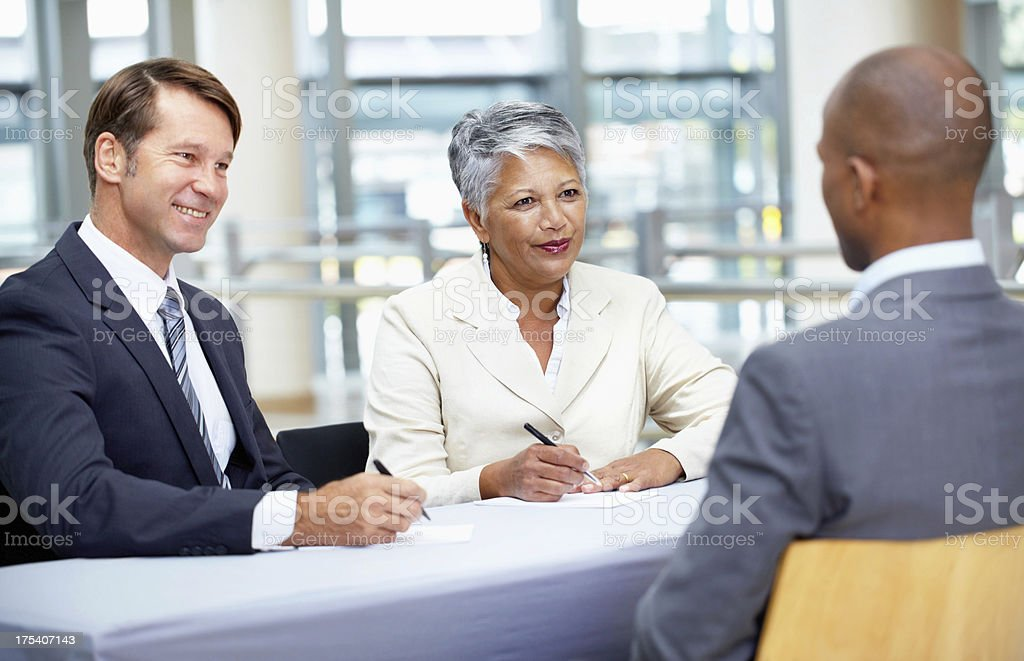 Very good answer royalty-free stock photo