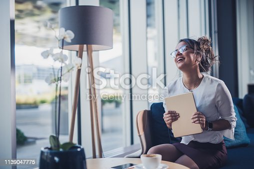 912944158istockphoto Very happy businesswoman. 1139047775