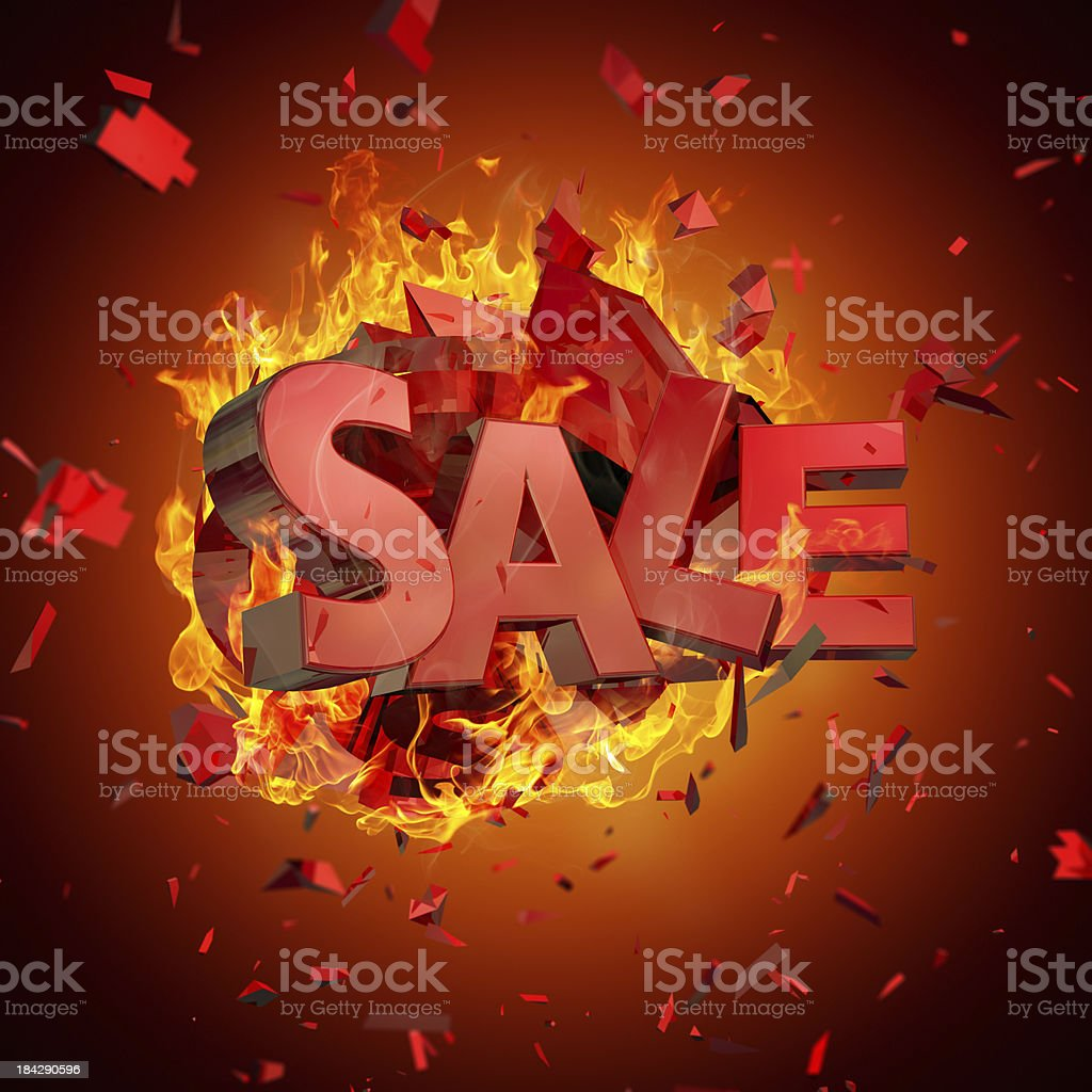 Very Hot Sale royalty-free stock photo