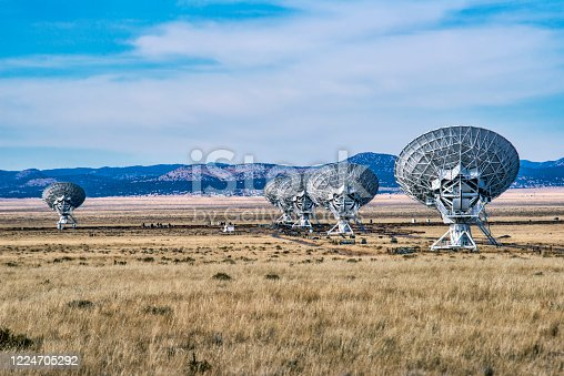 Very Large Array, Radio Telescope, New Mexico