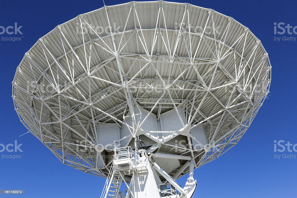 Very Large Array of Deep Space Telescopes stock photo