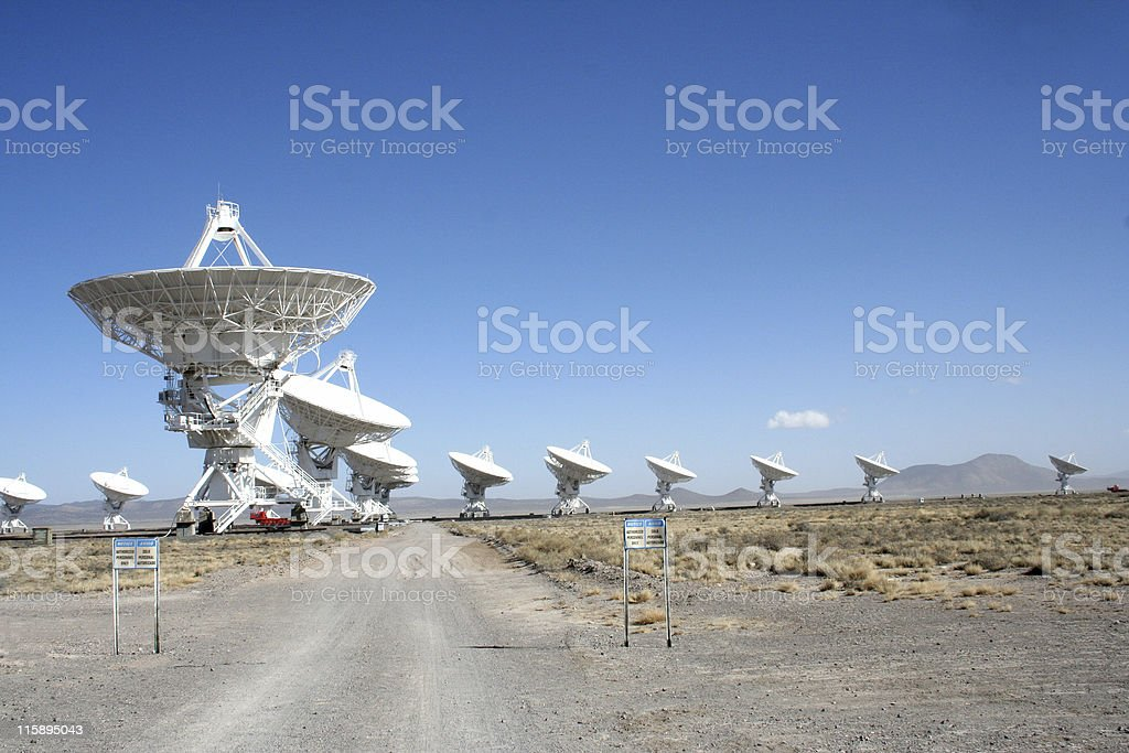 VLA - very large array stock photo
