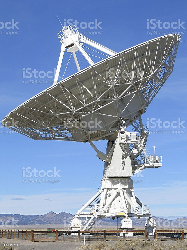 Very Large Array royalty-free stock photo