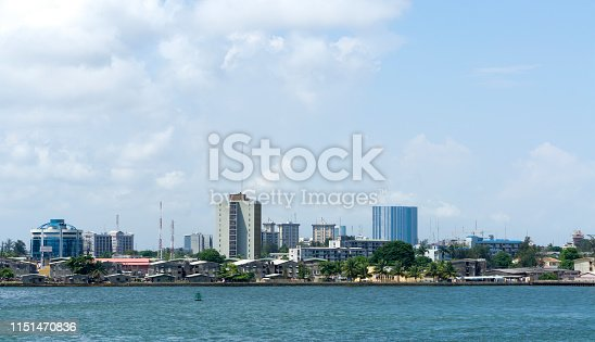 very nice view of lagos in west africa
