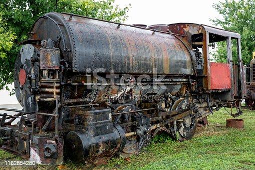 Black Train Engine