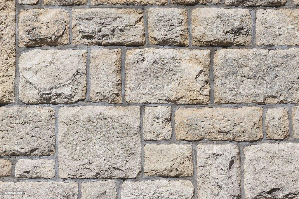 Very old brick wall texture royalty-free stock photo